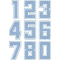 6inch Jersey Numbers - Design