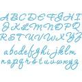 10ss Cursive Alphabet - Template