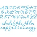 20ss Cursive Alphabet - Template