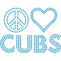 Peace Love Cubs - Design