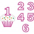 Birthday Cupcake - Template